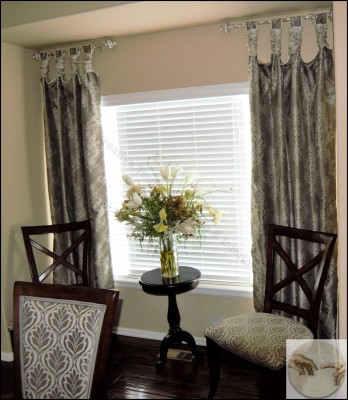 Creative Design ideas for dining room curtains