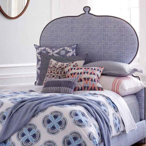 Light and Airy fabrics for custom bedding